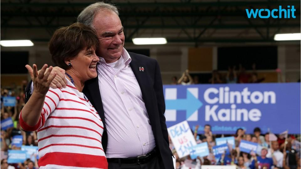 Tim Kaine Has An Everyman Charm