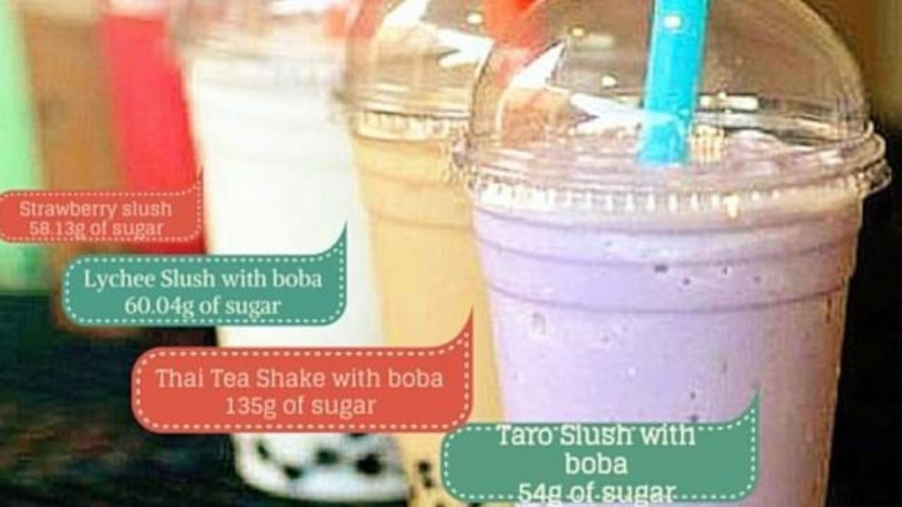 Go Easy on Boba Tea, Popular Beverage Can Be Bad for your Health