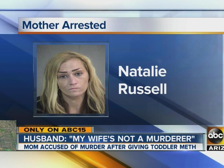 Mom accused of murder after giving child meth