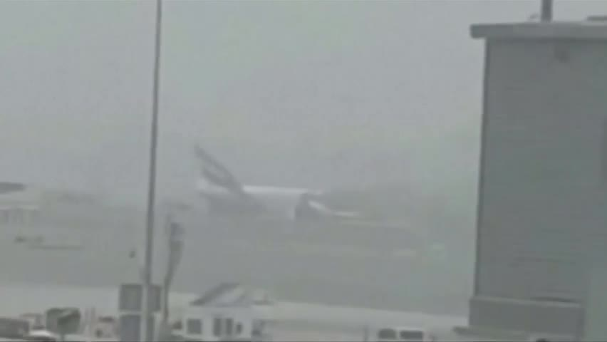 Emirates plane catches fire after emergency landing in Dubai