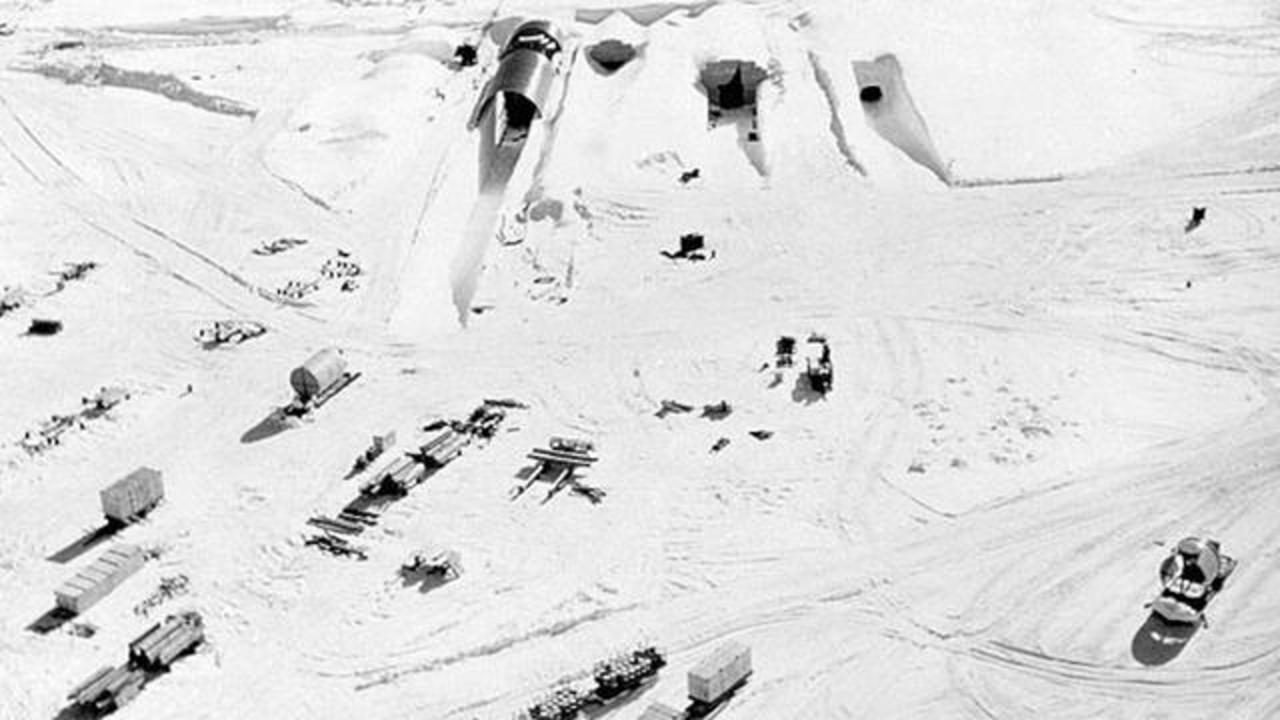Melting Ice Sheet Expected To Unearth Waste From Buried Secret Military Base