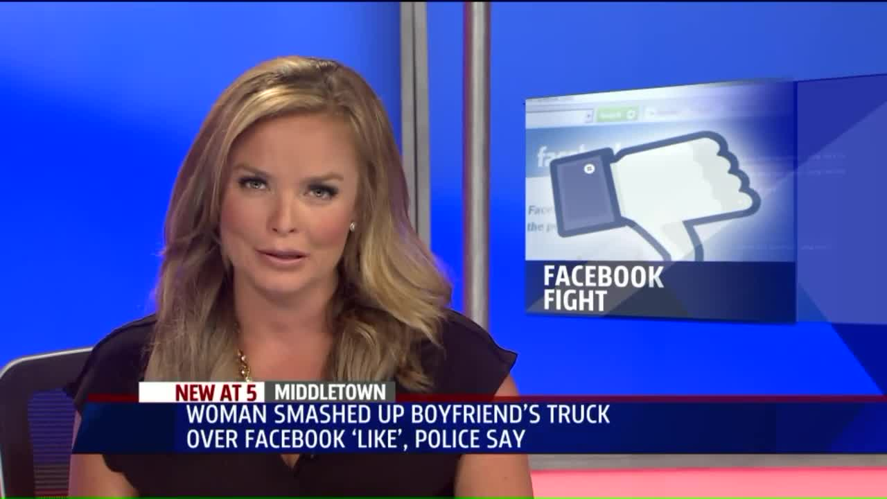 Woman Allegedly Took Hammer to Boyfriend's Car Over Facebook 'Like'
