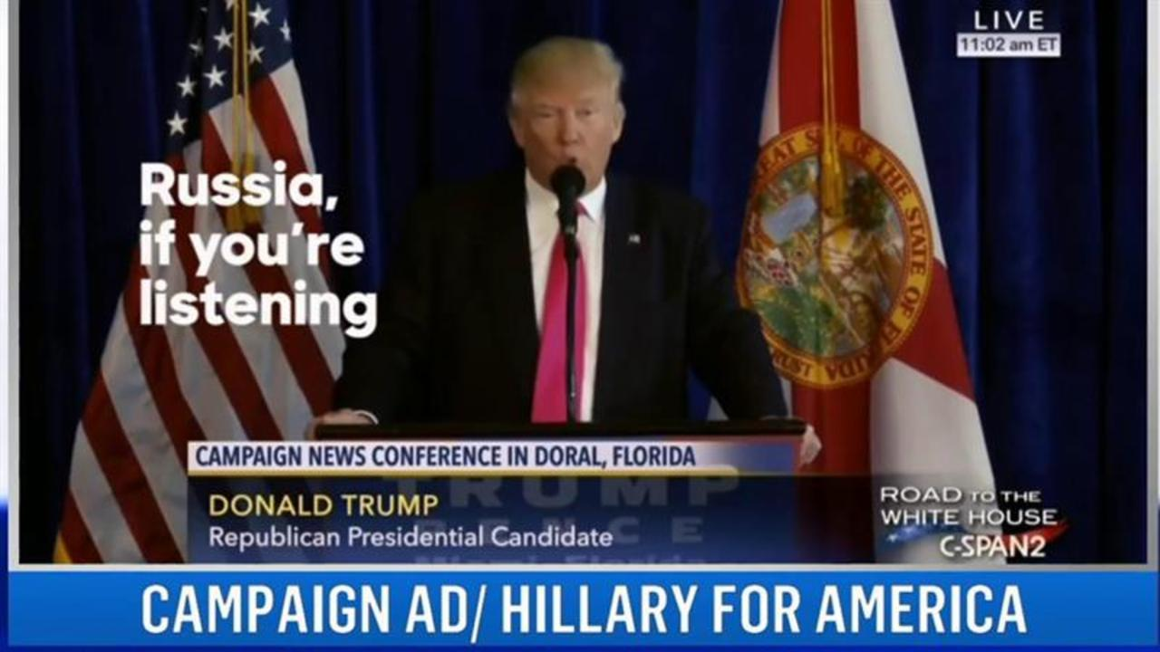 Clinton's New Ad Strategy Against Trump