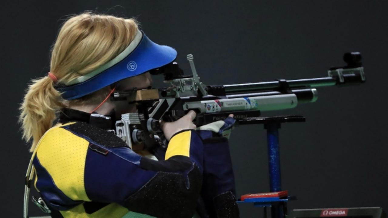 Olympic Gold Medalist Ginny Thrasher Talks About Gun Rights