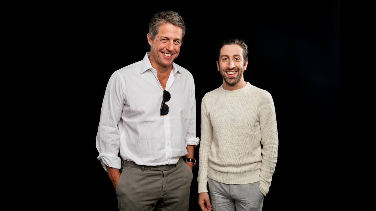 "Hugh Grant and Simon Helberg On ""Florence Foster Jenkins"""