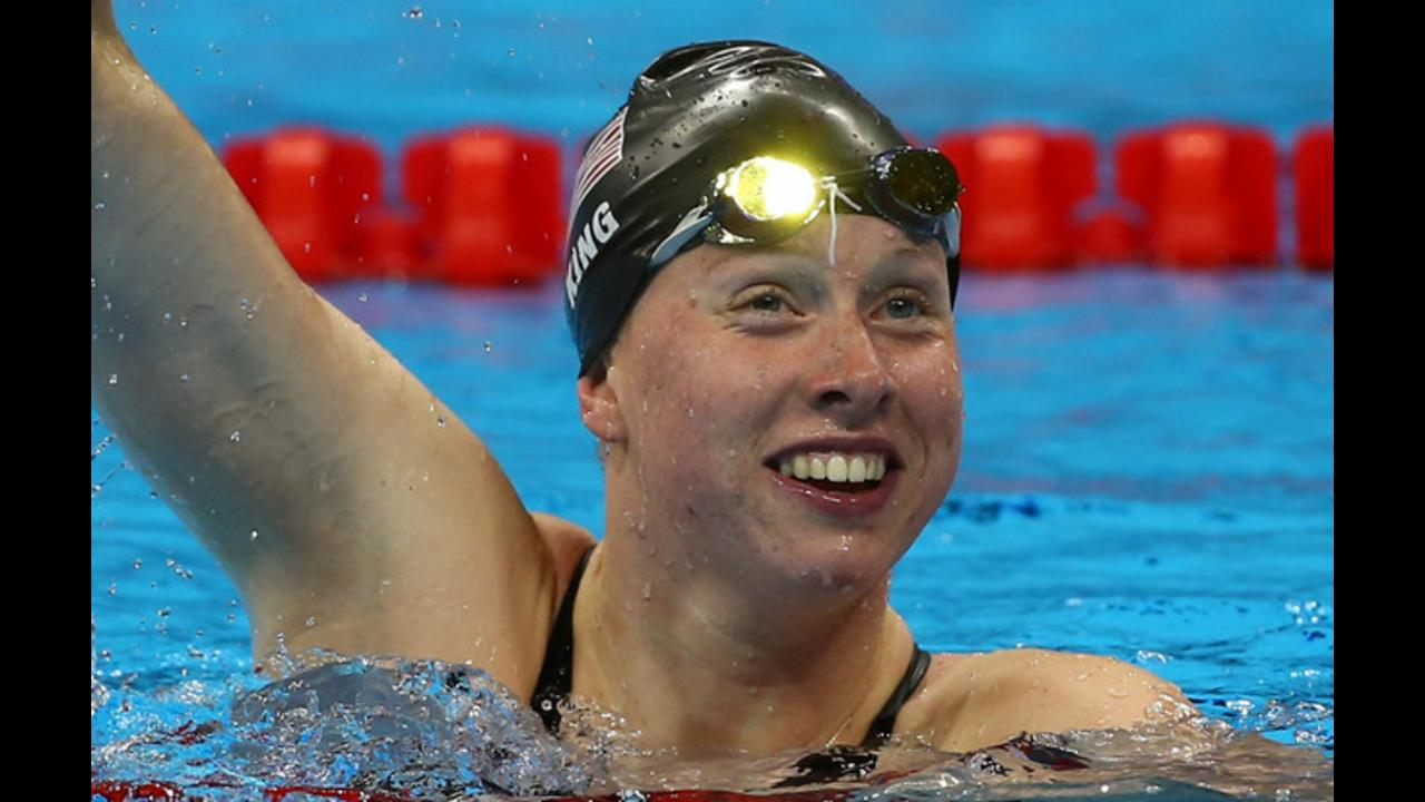 Rio Olympics: Lilly King grabs gold, sets record in 100-meter breaststroke
