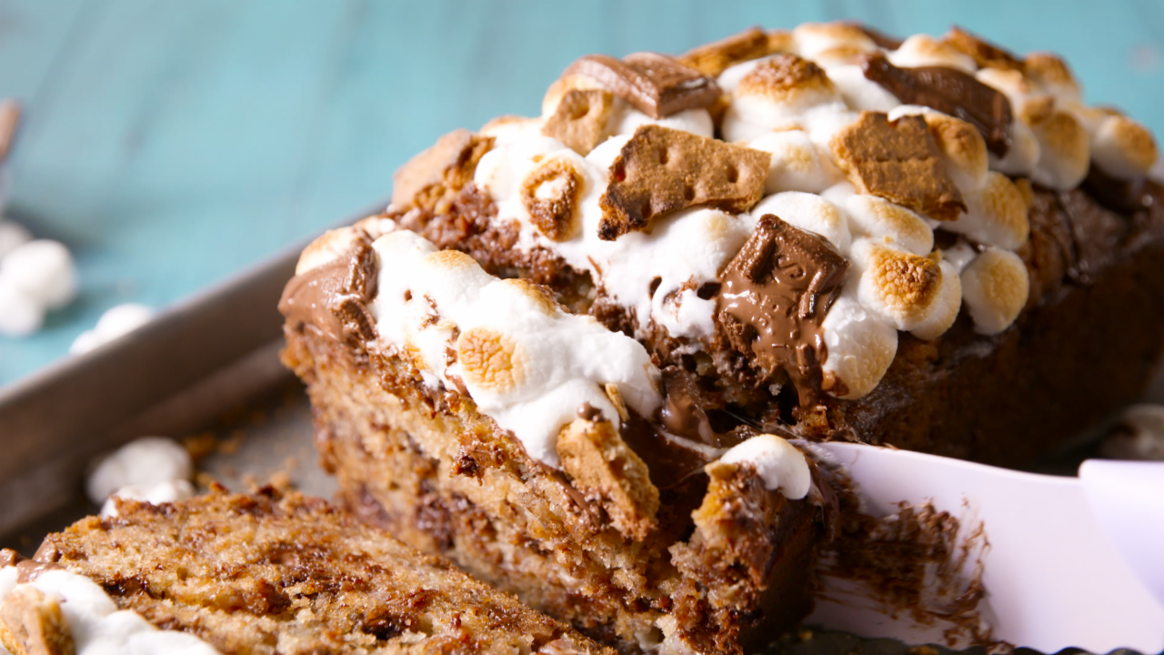 Espresso fudge swirled banana bread - AOL Lifestyle