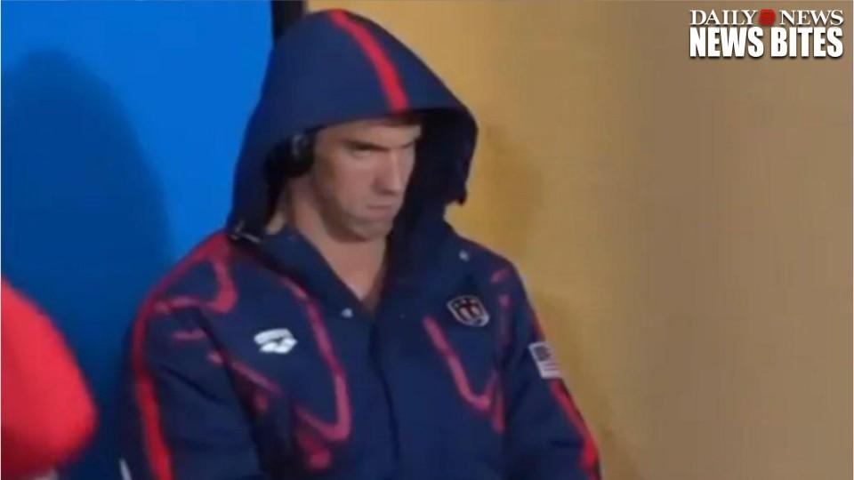 The Internet Can't Handle Phelps Face