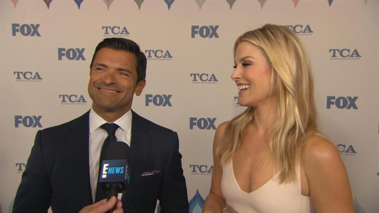 "Mark Consuelos Talks ""Live! With Kelly"" Rumors and Family"