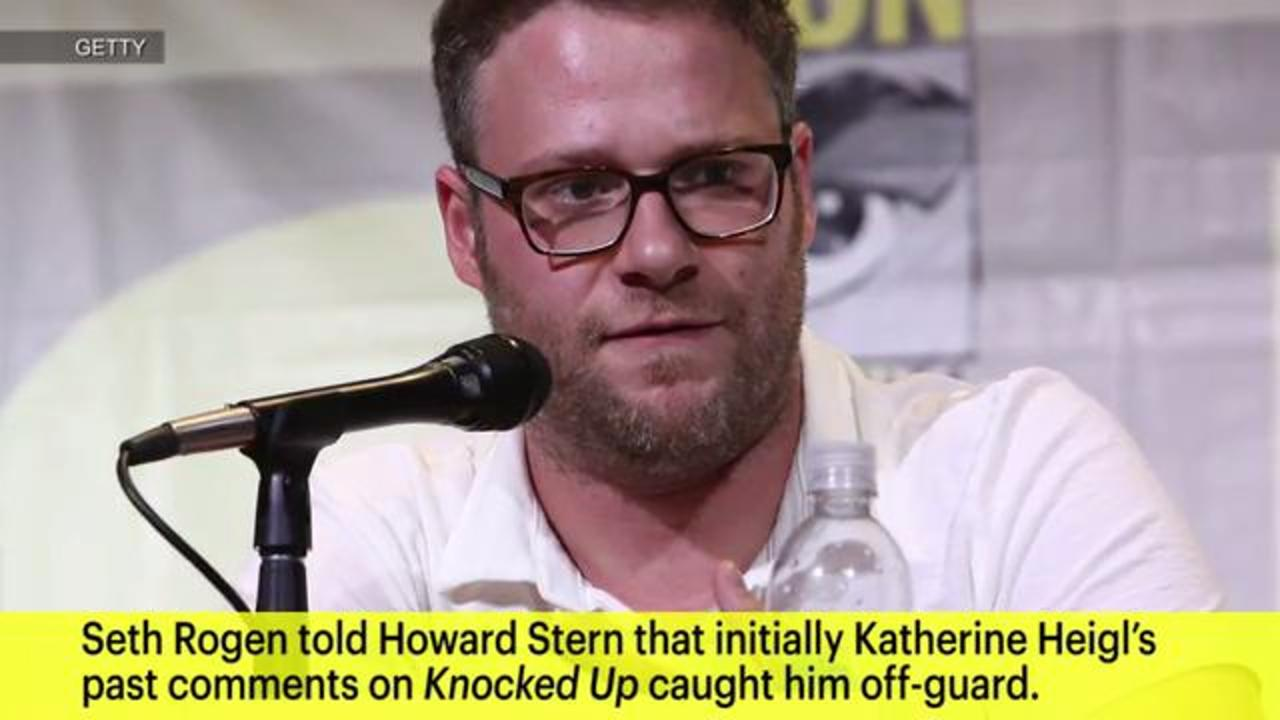 Seth Rogen addresses Katherine Heigl's controversial Knocked Up comments