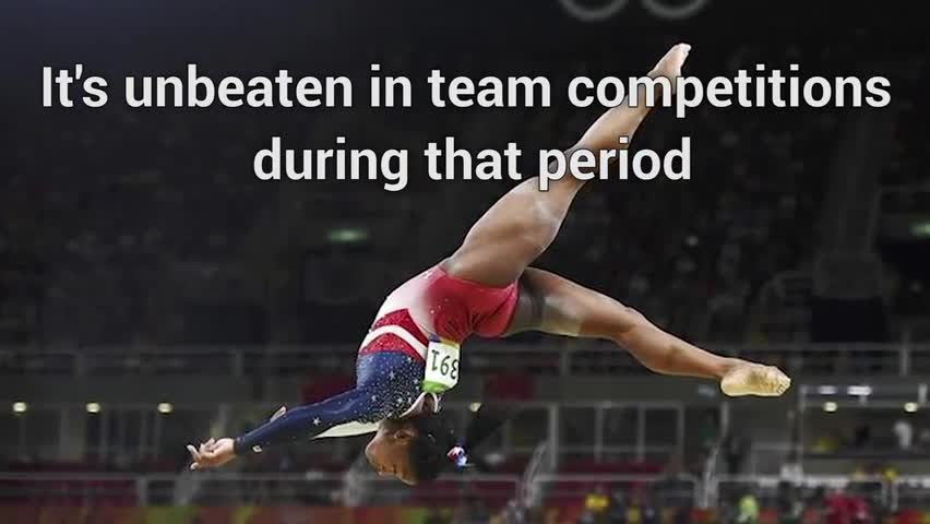 US Olympic Gymnastics Team Takes Home Gold... Again