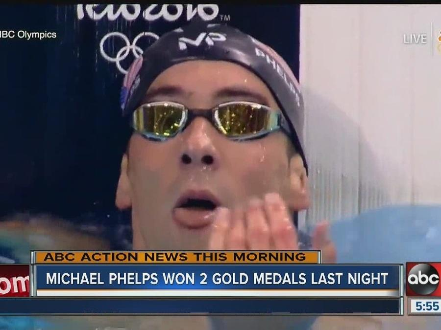 Michael Phelps now has 21 gold medals