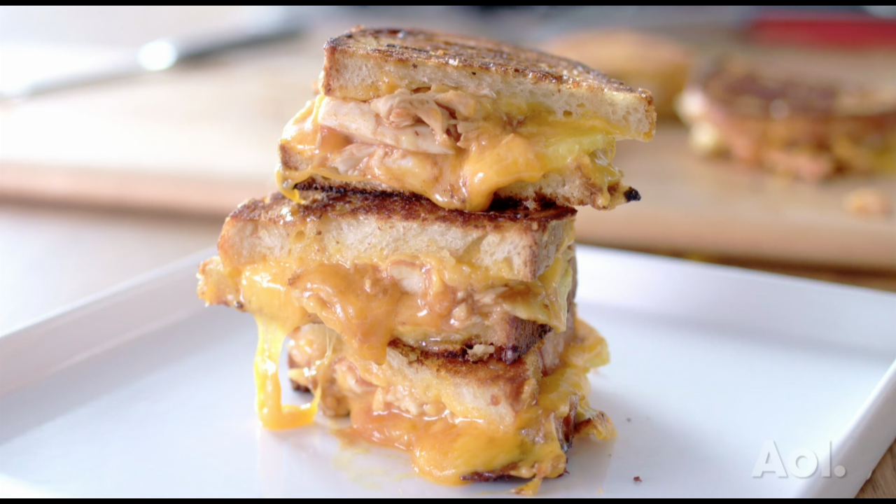 BEST BITES S1:E9 | BBQ CHICKEN GRILLED CHEESE