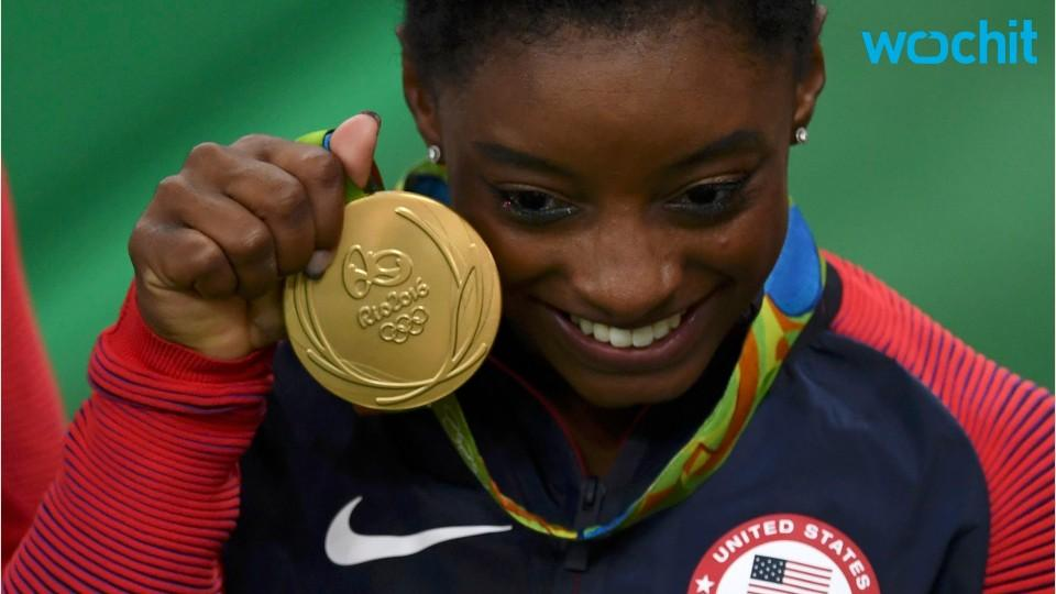 Simone Biles Strives For Perfection In Gymnastic