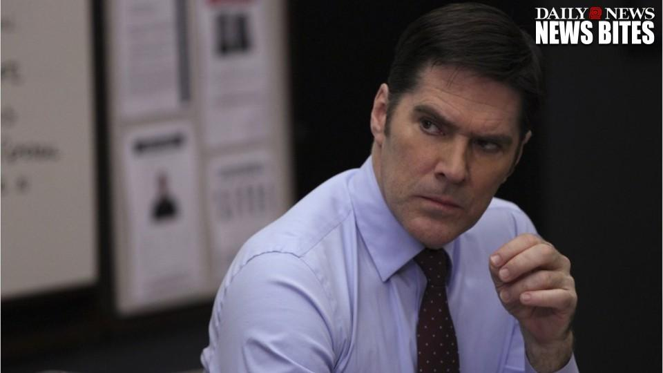 'Criminal Minds' actor Thomas Gibson suspended from show for kicking writer