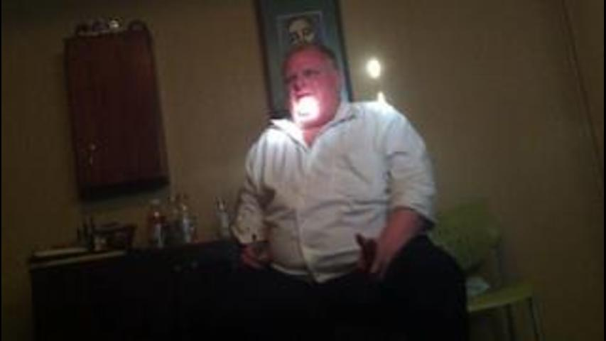 Rob Ford's infamous crack video