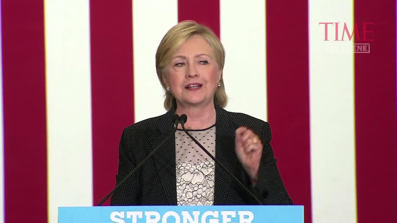 Hillary Clinton Lays Out Economic Plan