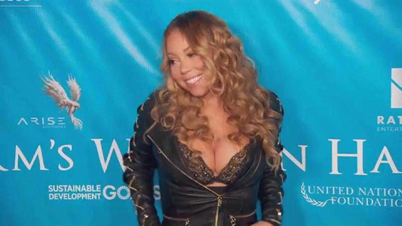 Mariah Carey's Cleavage-Baring Summer Style