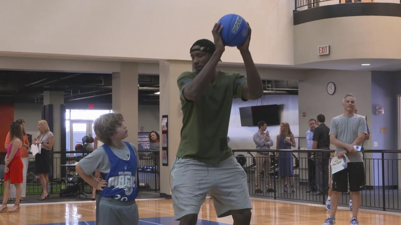 Serge Ibaka Looking Forward To Giving Back To Orlando Community