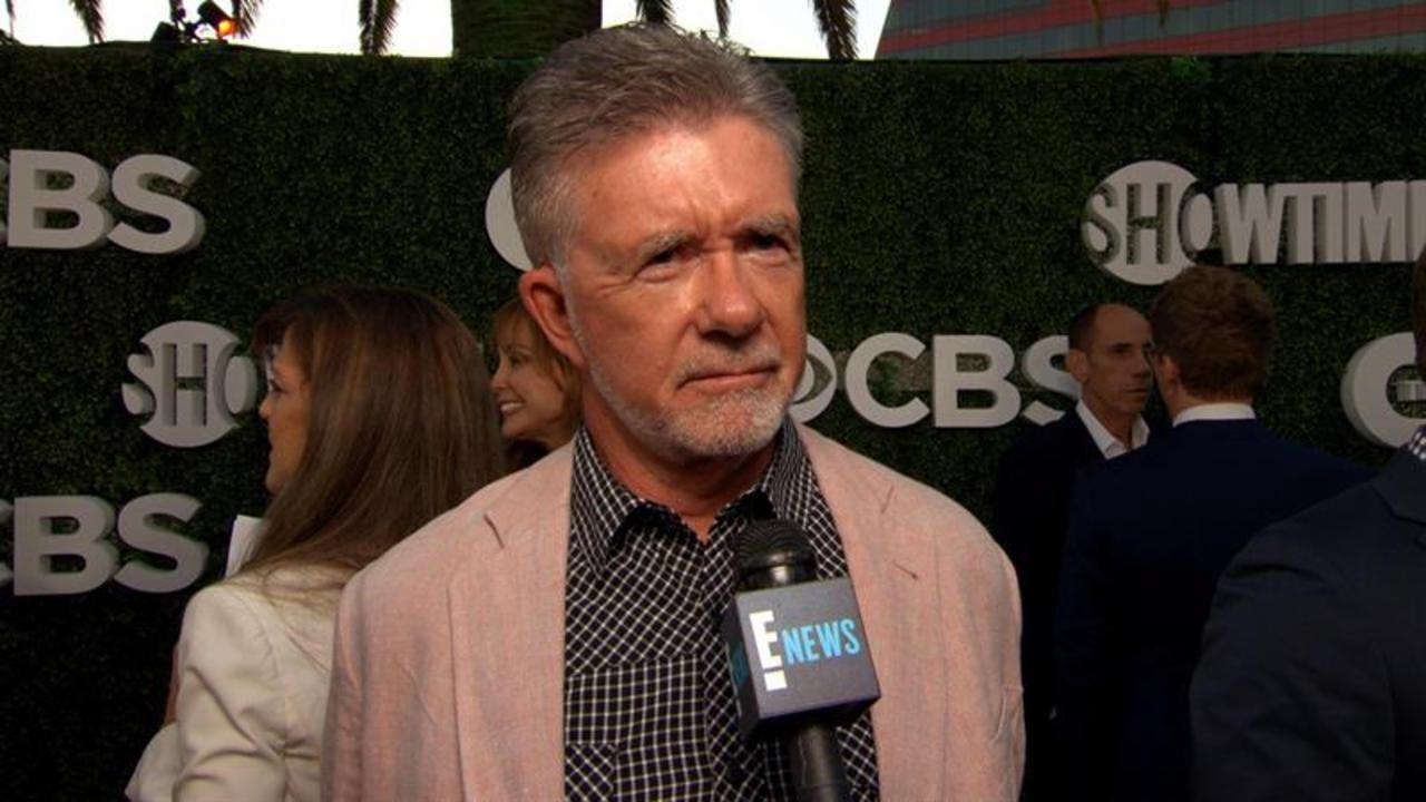"Alan Thicke Reveals ""Fuller House"" Love Interest"