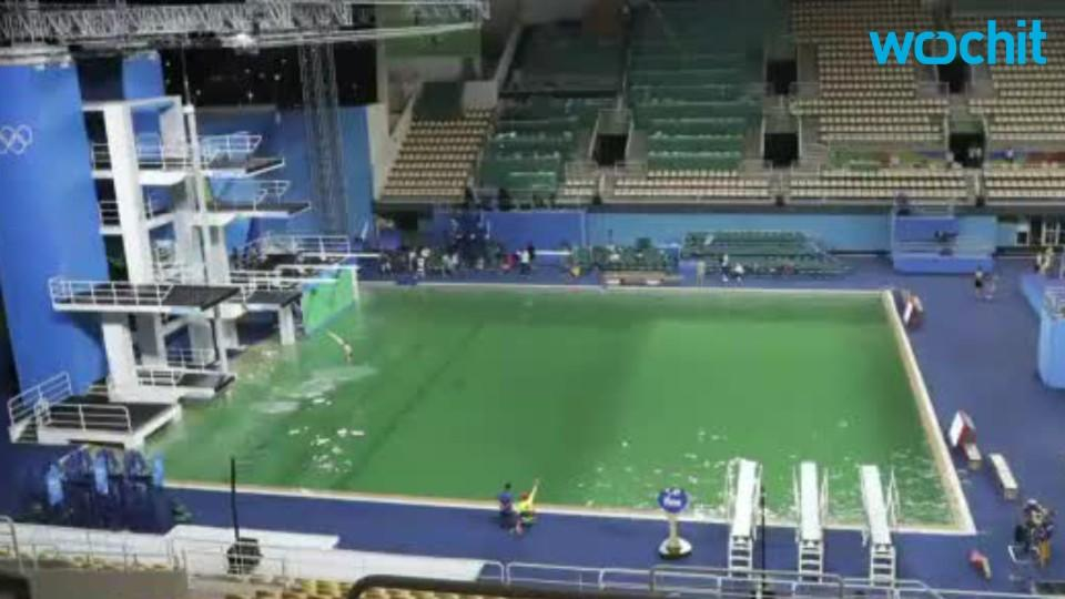 Olympic Officials Will Drain Green Pool