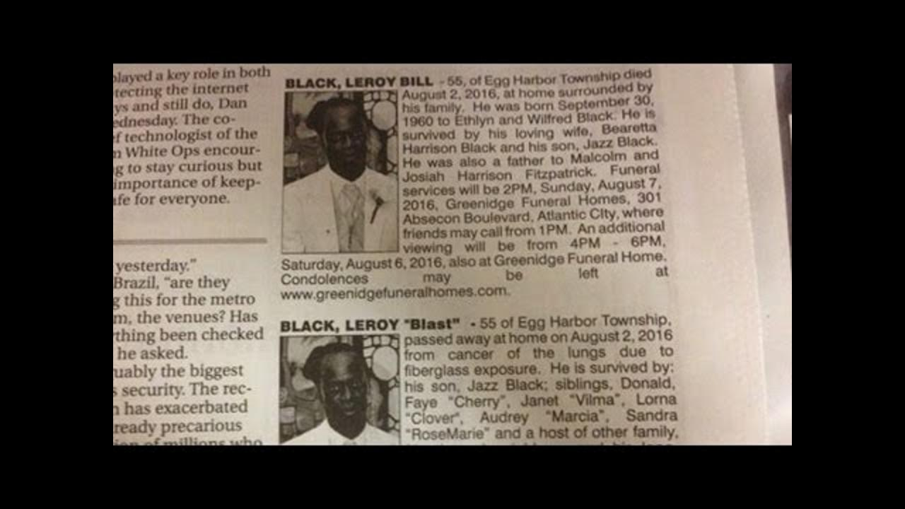 Man's Wife and Girlfriend Pen Dueling Obituaries