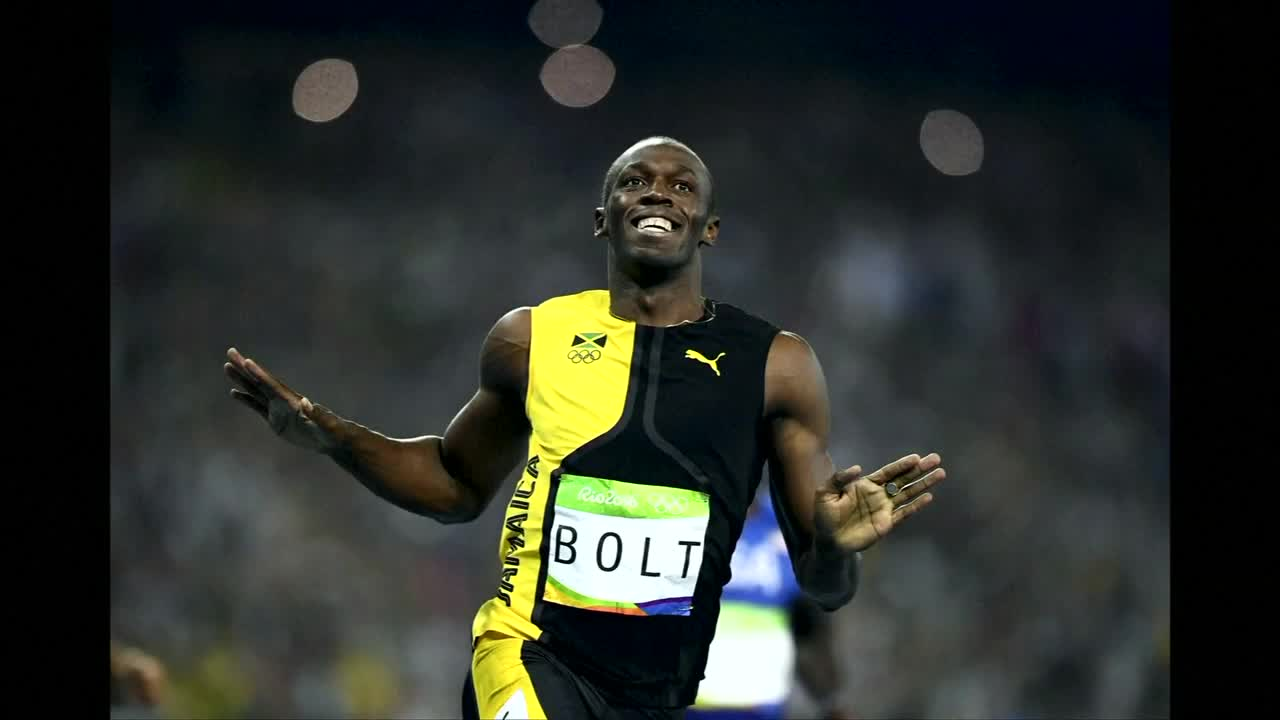 Jamaica's Bolt wins Olympic 100m gold