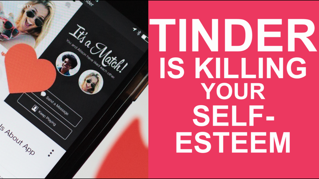Study shows Tinder is killing your self-esteem