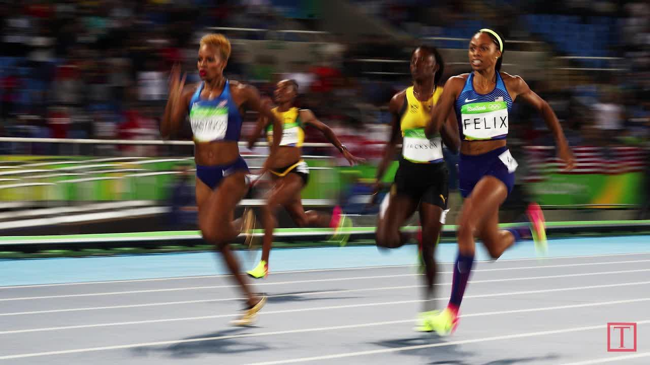 Allyson Felix Denied Gold Yet Makes Olympic History