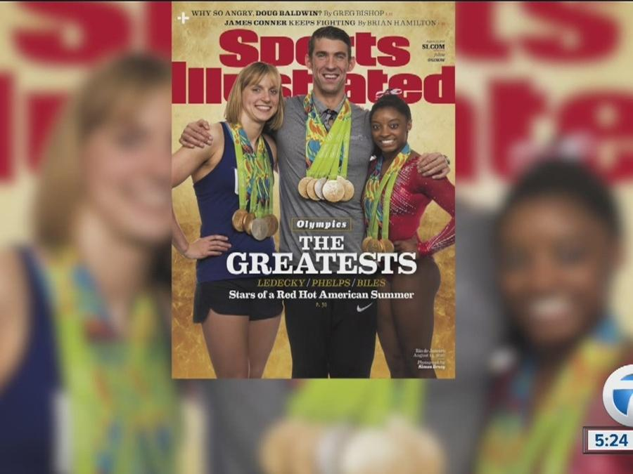 Simone Biles, Michael Phelps, and Katie Ledecky grace new cover of Sports Illustrated