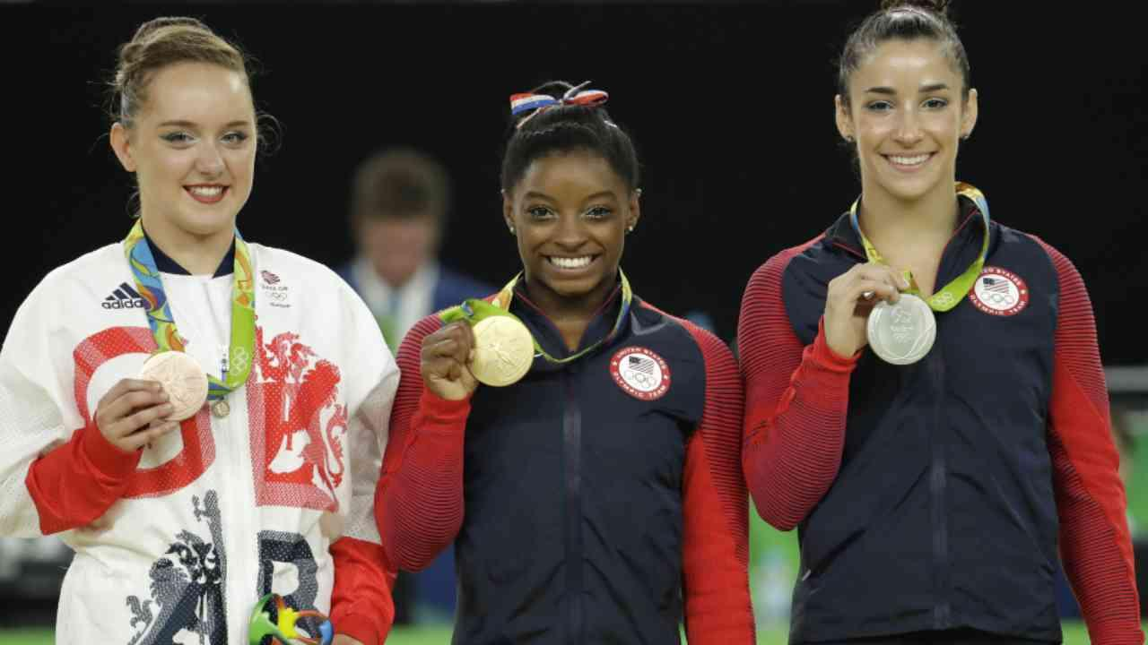Simone Biles Soars to Fourth Gold Medal
