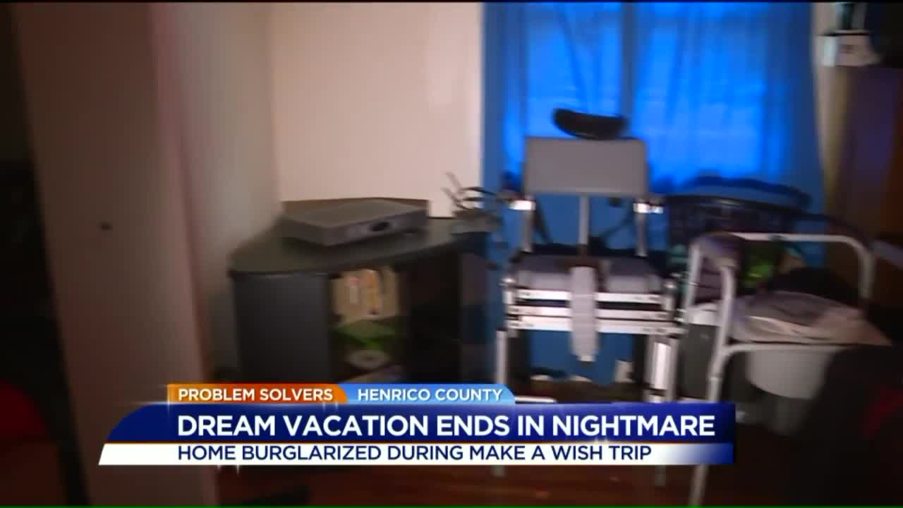 Family Returns From Make-A-Wish Vacation To Find House Robbed