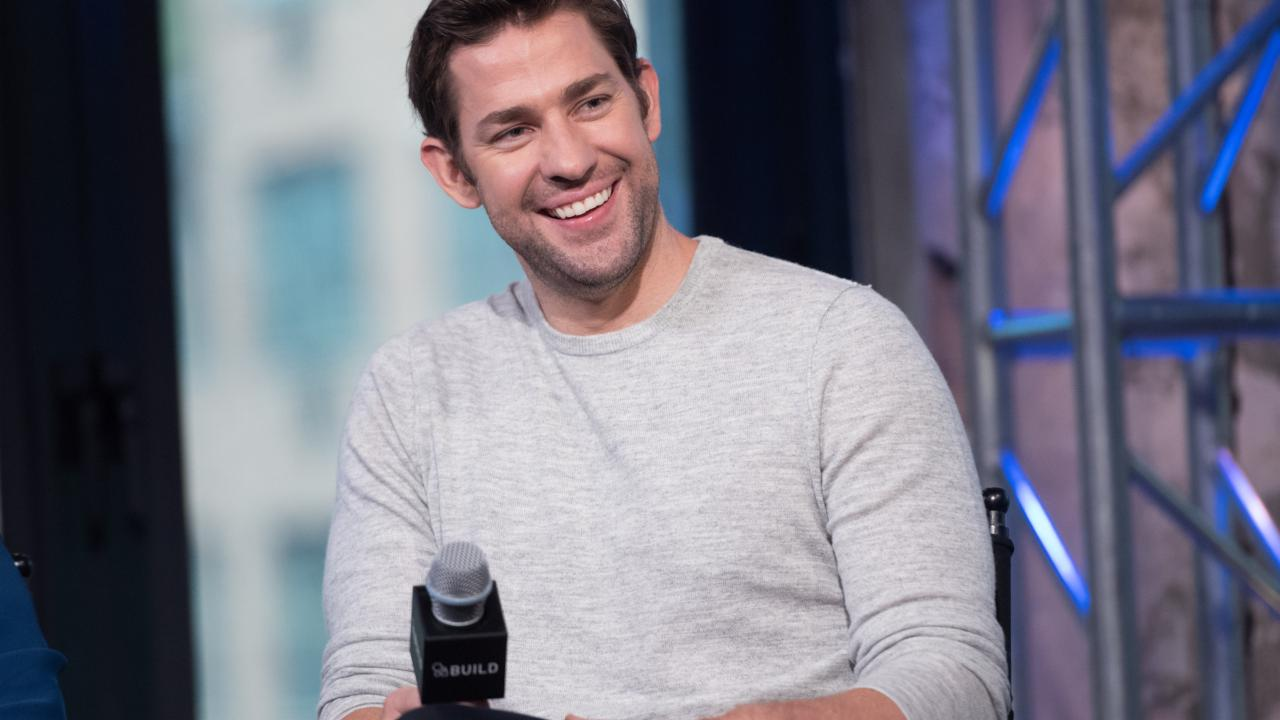 "John Krasinski Tells The Story Behind ""Lip Sync Battle"""