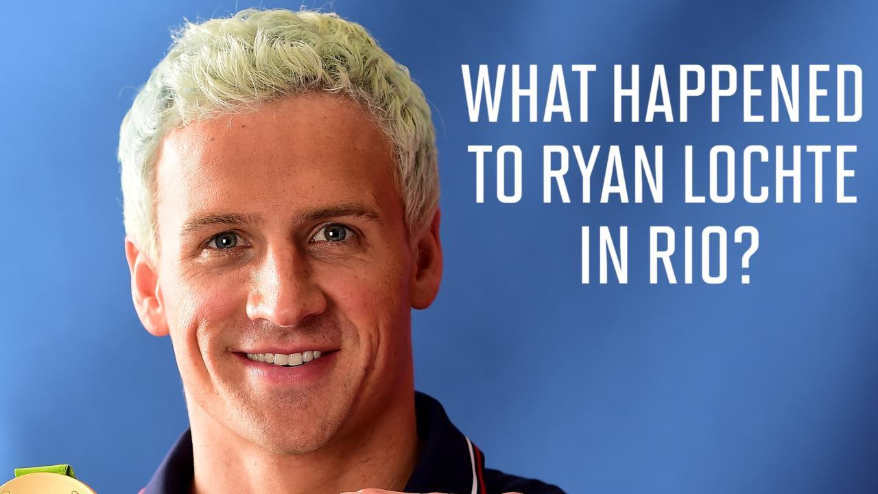What happened to Ryan Lochte in Rio?