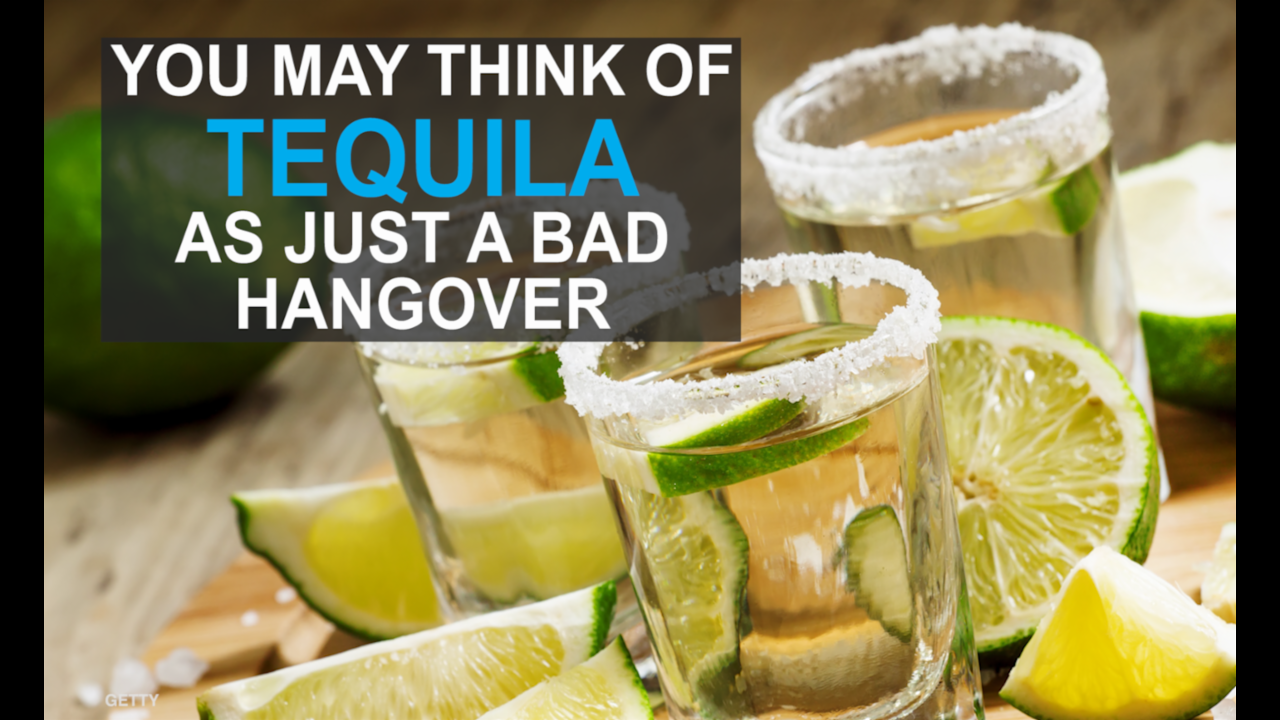 The unexpected health benefits of tequila