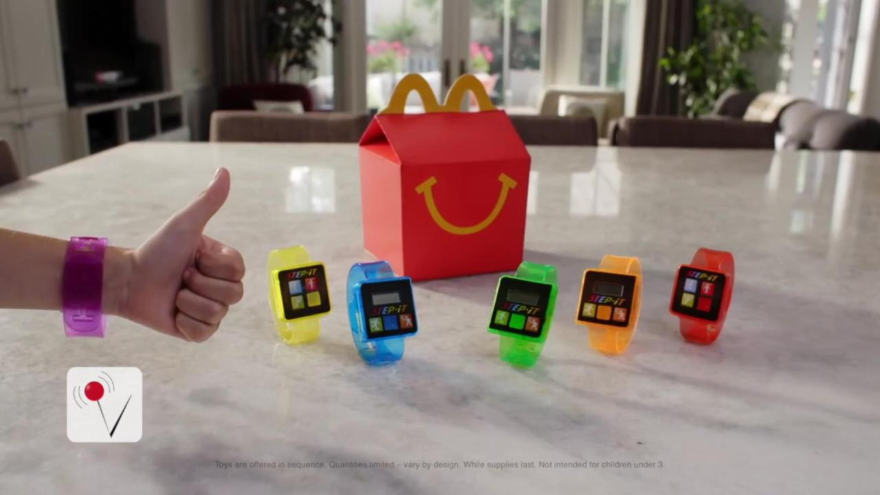 McDonald's Pulls Kids' Fitness Tracker From Happy Meals