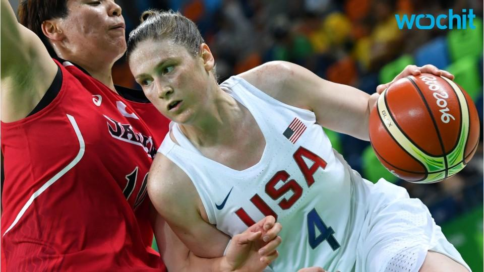 US Women's Basketball Battles France In Semi-final