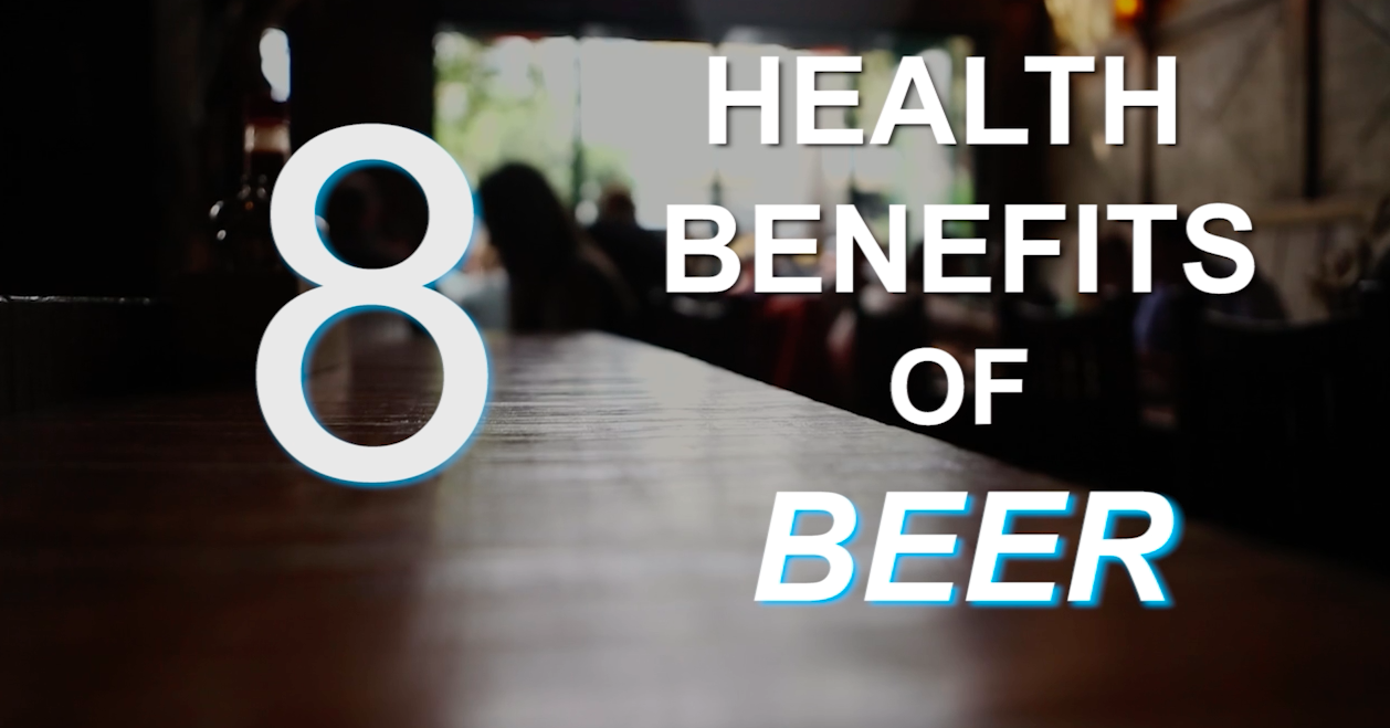 8 health benefits of beer