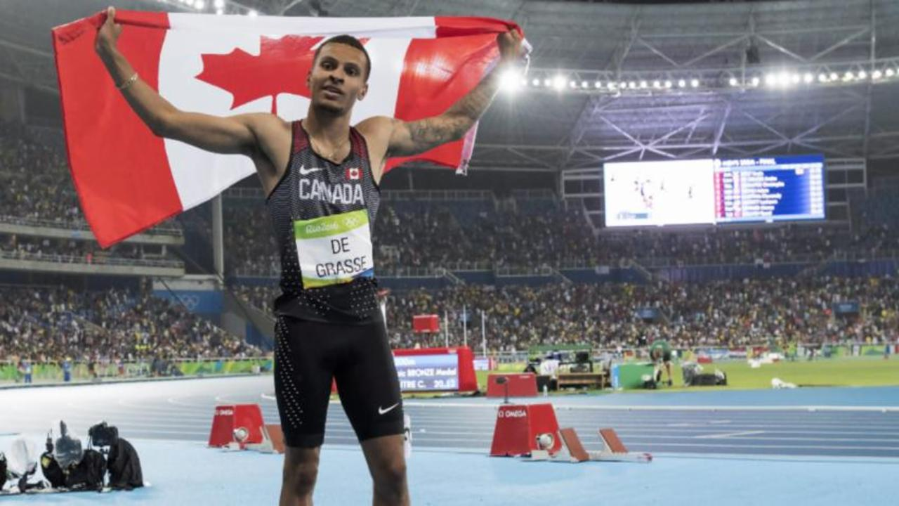 Andre De Grasse says he wants triple gold at next Olympics