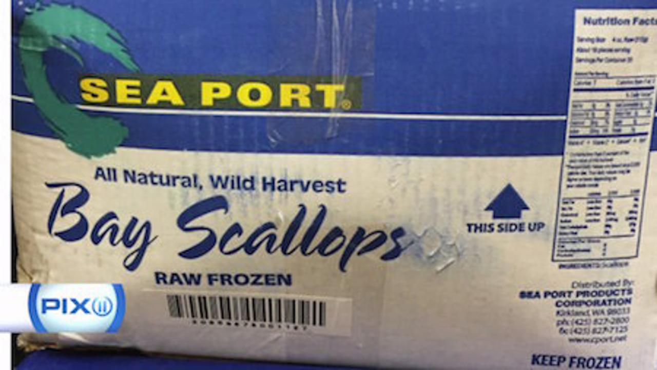 Sea Port scallops recalled after hundreds sickened with hepatitis A nationwide