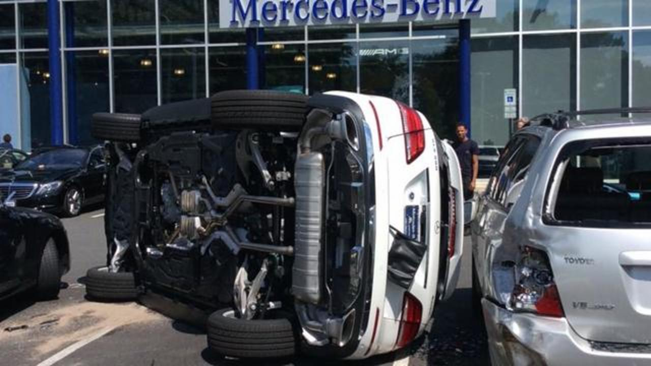 Woman Flips SUV During Test Drive At A Virginia Car Dealership