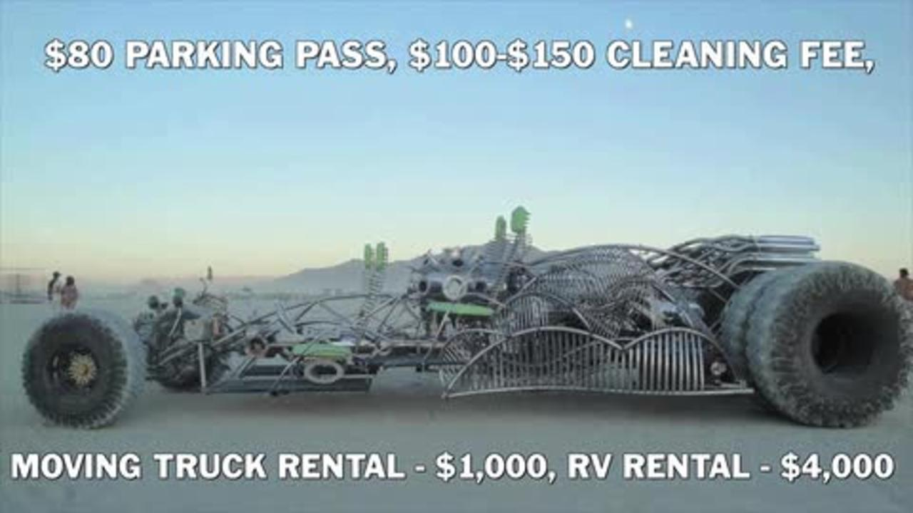 How Much Burning Man Really Costs