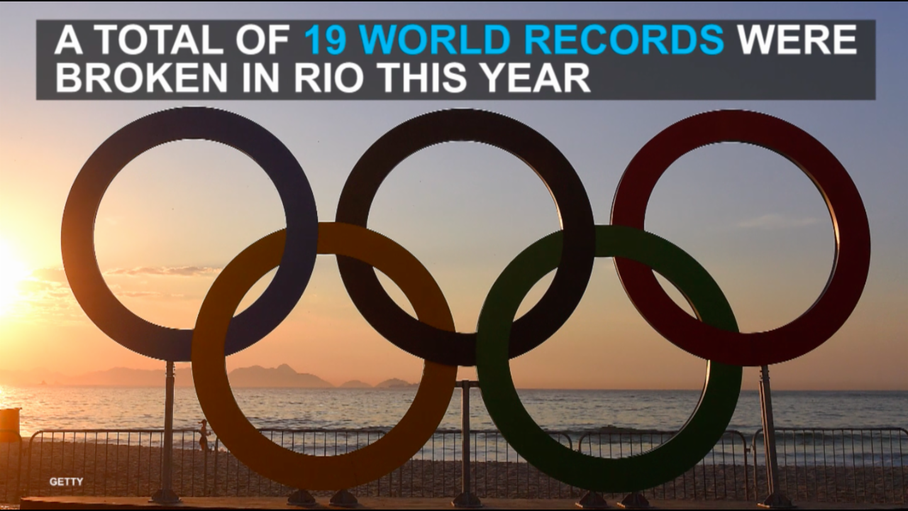 Athletes make history by setting new world records at the Olympics