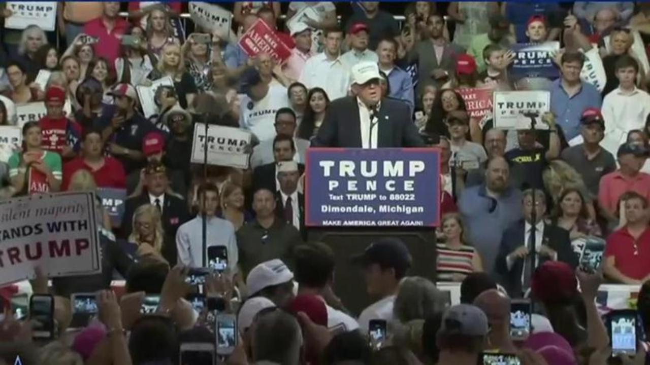 What's going on with the Trump campaign?