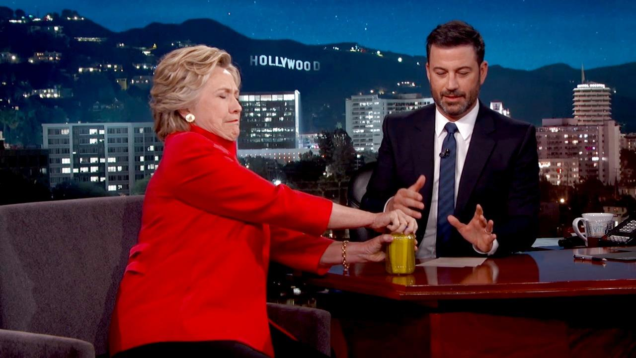 Hillary Clinton Proves She's in Good Health