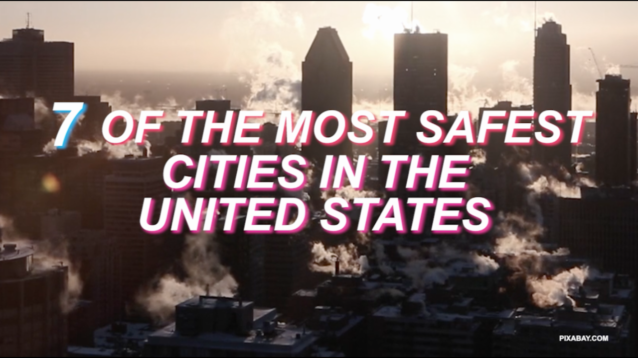7 of the safest cities in the United States