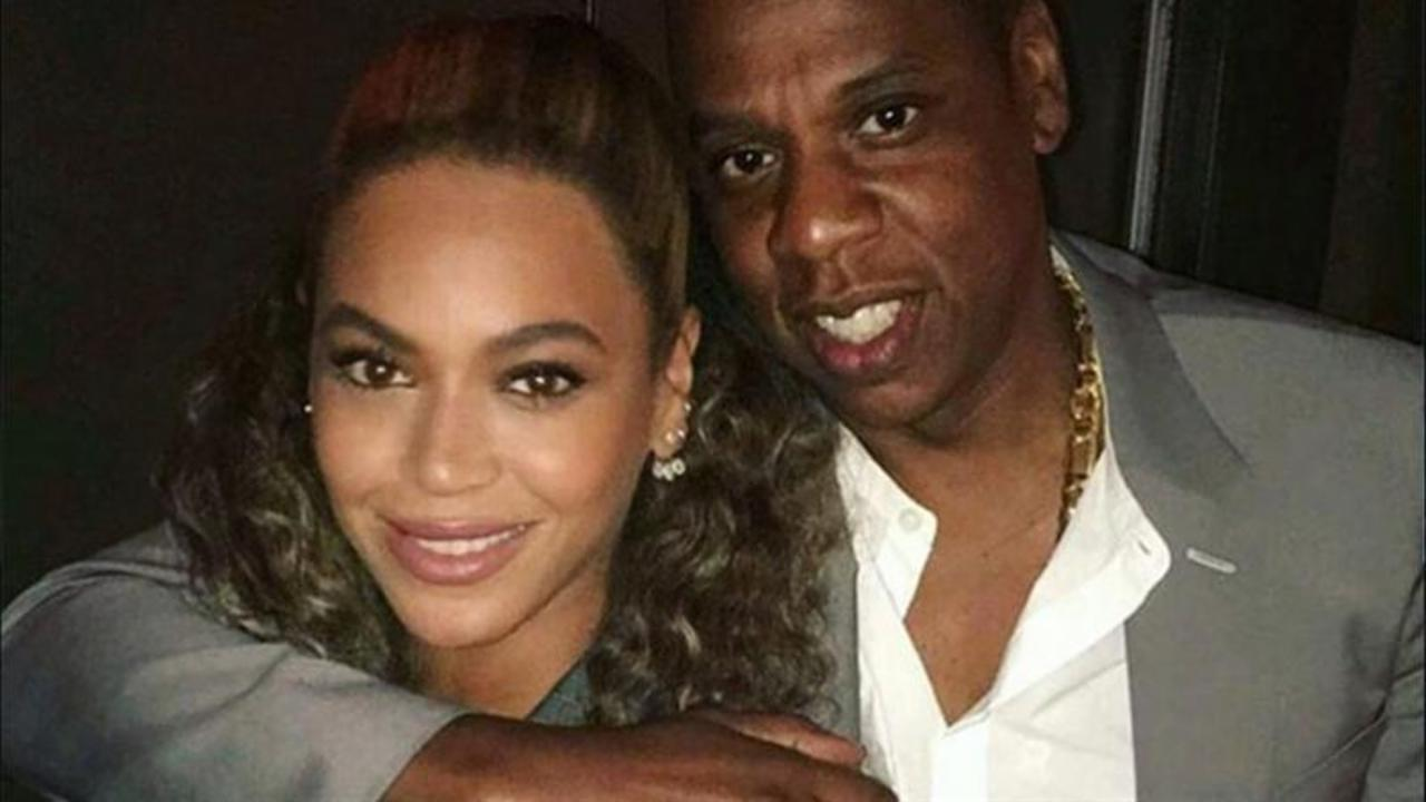 Beyonce and Jay Z Wear Matching Suits