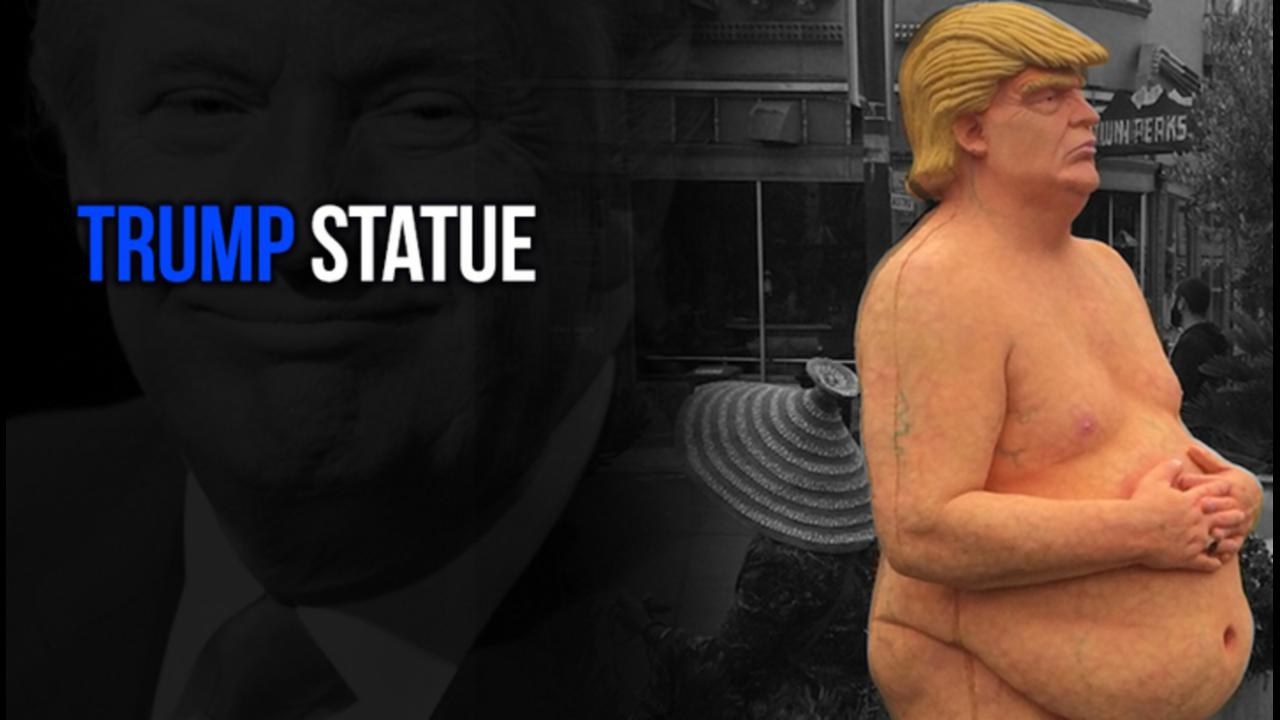 Naked Donald Trump Statues Appear Across U.S.