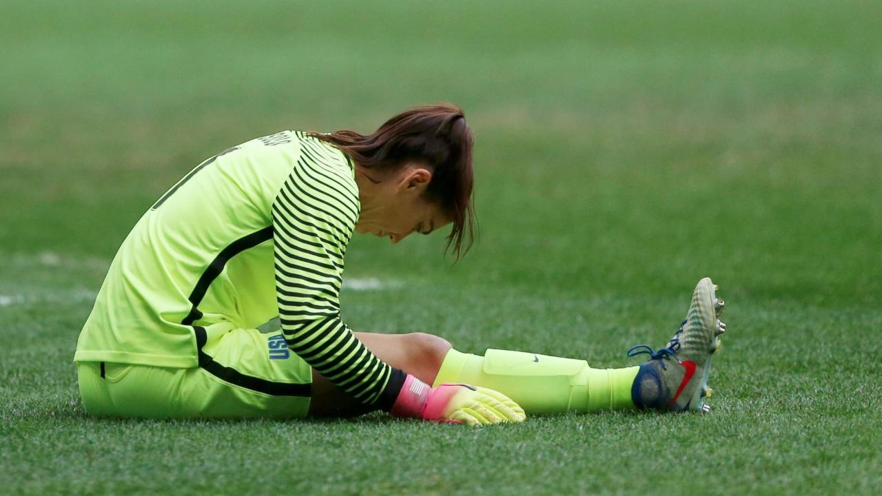 U.S. Soccer suspends Hope Solo