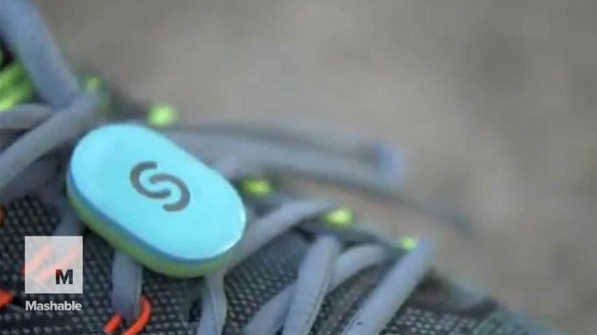 Talking shoe sensor coaches you as you run